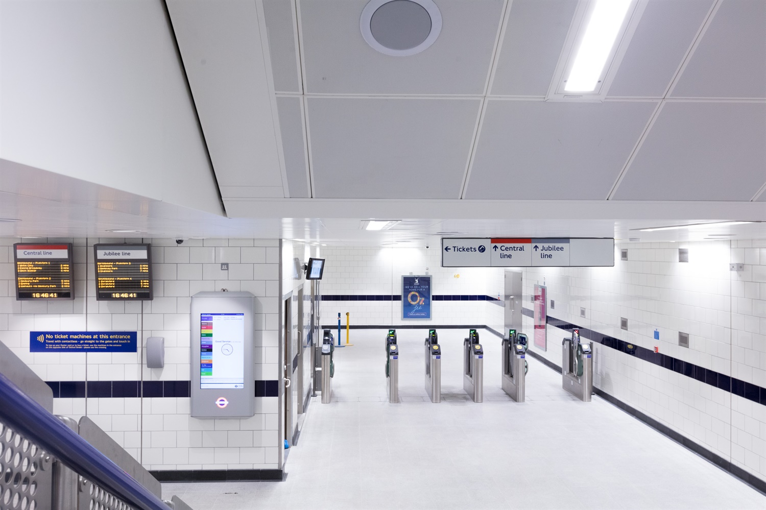 Bond-street---new-ticket-gate c. TfL