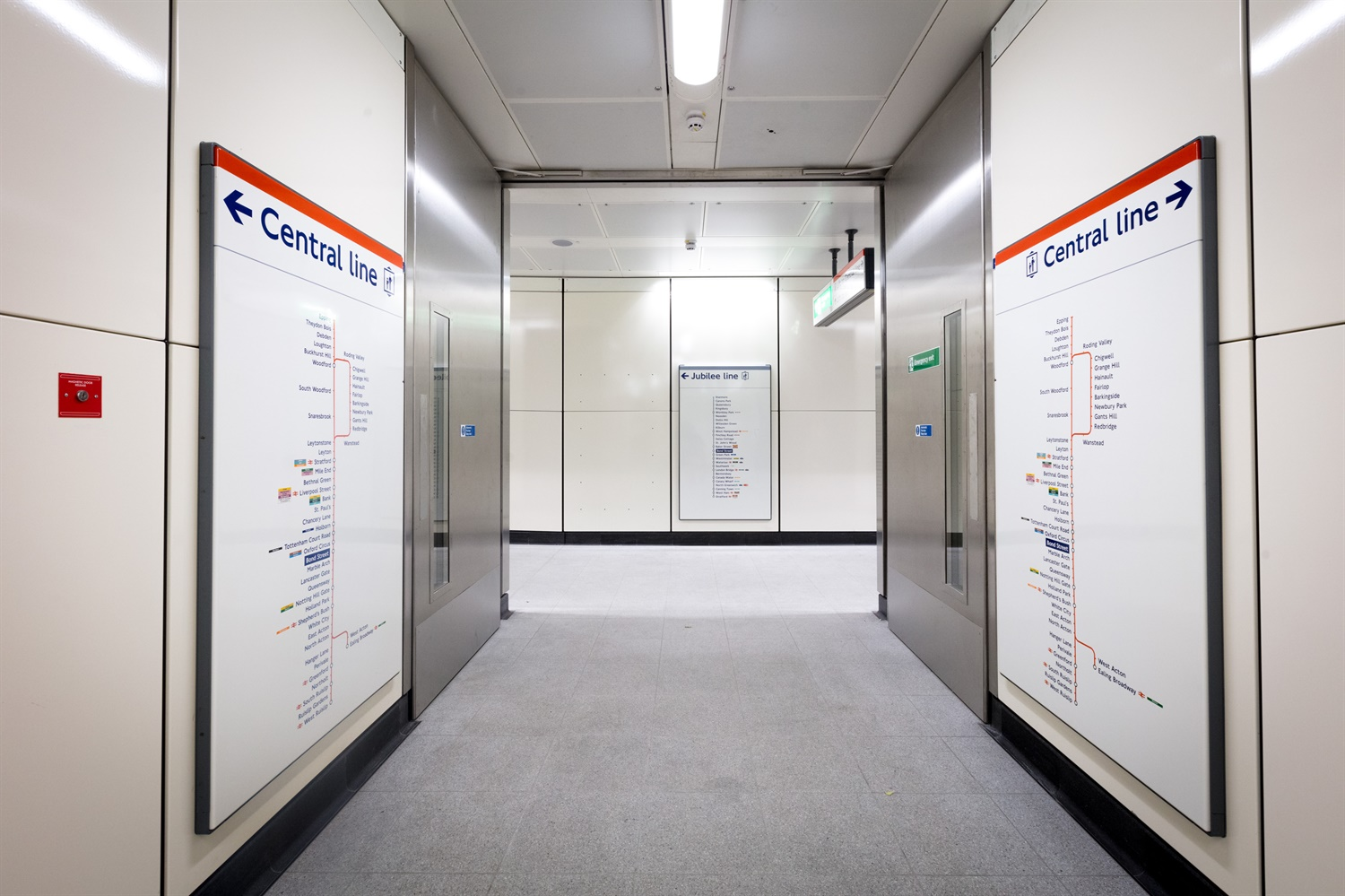 Bond Street new-cross-passage c. TfL