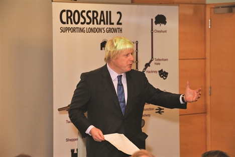 Boris calls for Bakerloo extension and Crossrail 2 by 2050