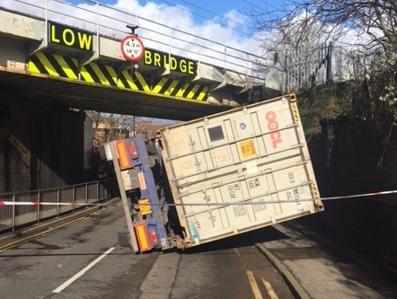 Network Rail calls out 'entirely avoidable stupidity' of 'bridge-bash' lorry drivers