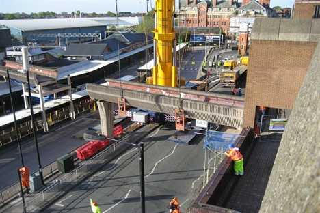 Bridge demolition paves the way for Altrincham transformation