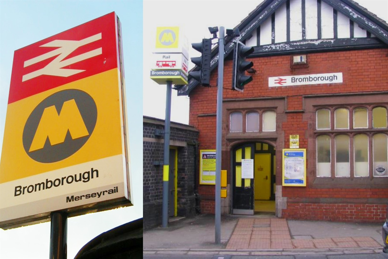 Bromborough station prepares for modern refurbishment