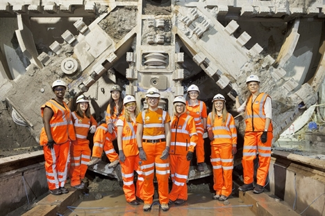Female engineers needed to tackle the skills shortage – Crossrail