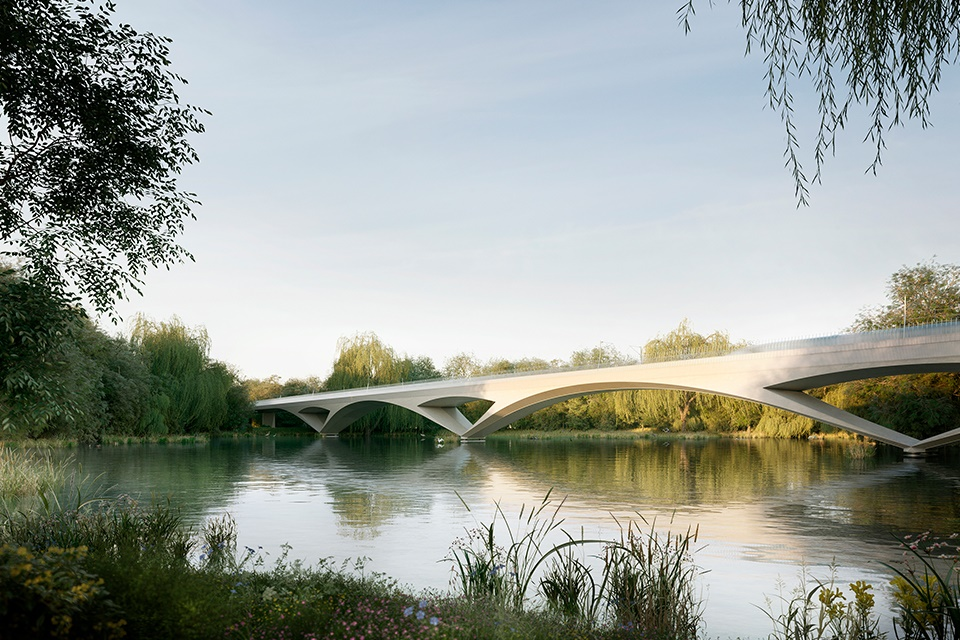 HS2 releases concept images of new Colne Valley viaduct
