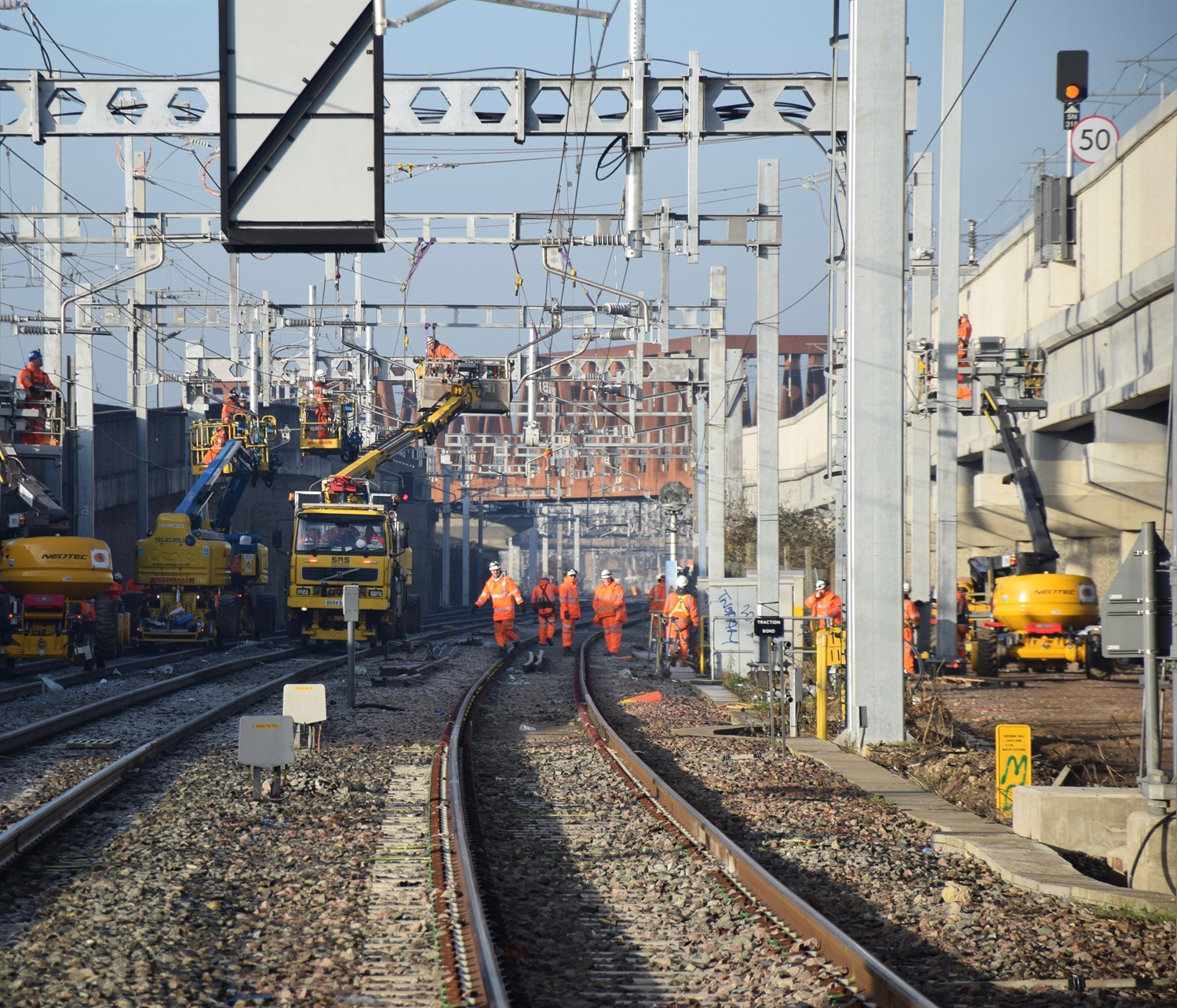 Vital Crossrail works delivered over Christmas