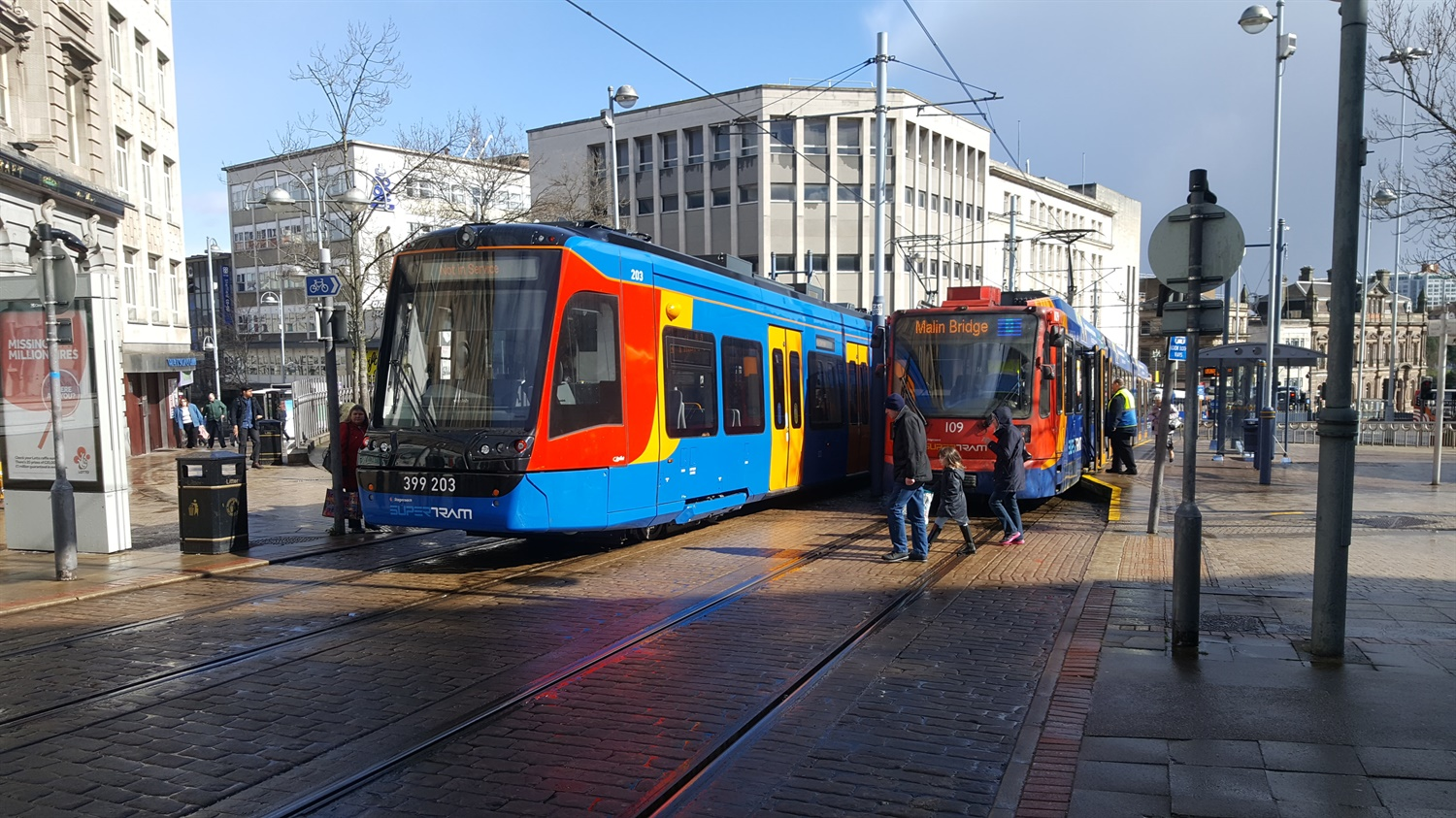 Testing on Sheffield tram-train pilot finally starts