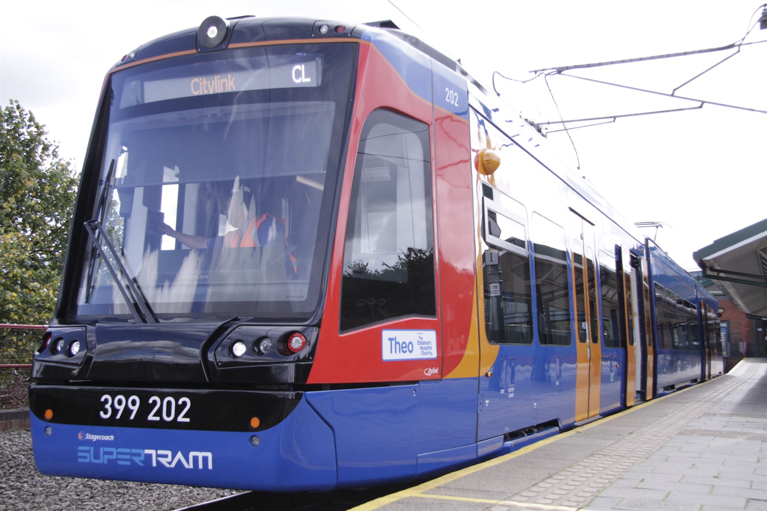 Delayed Sheffield tram-train starts services on light rail network