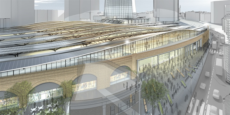 London Bridge station works approved