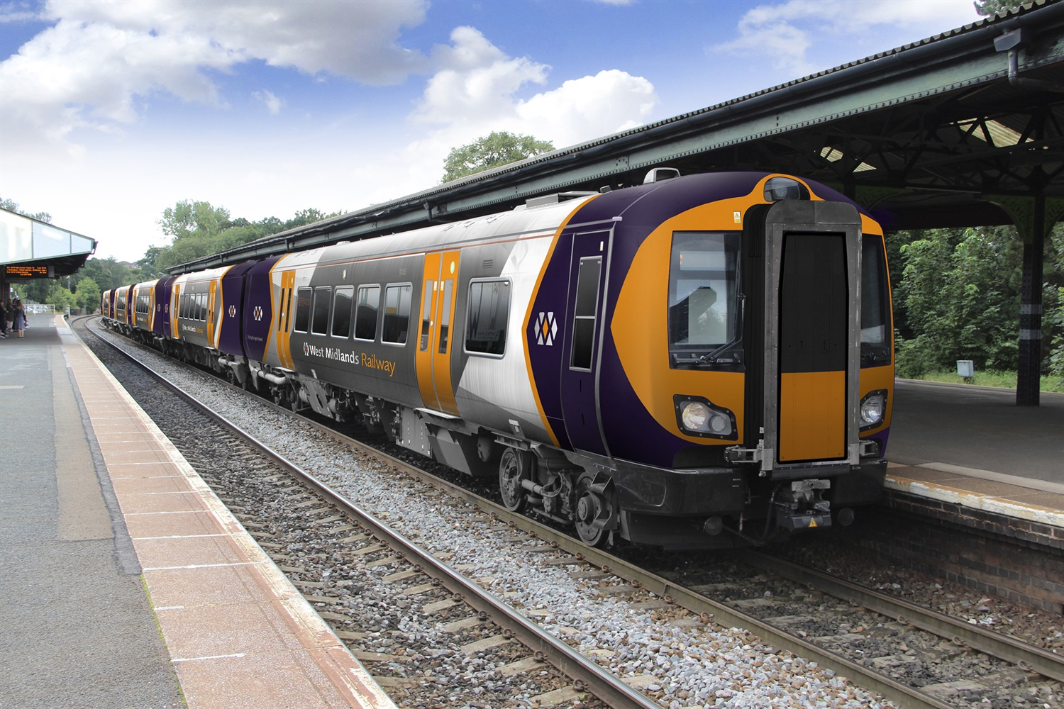 WMR unveils new-look livery designs for West Midlands rolling stock