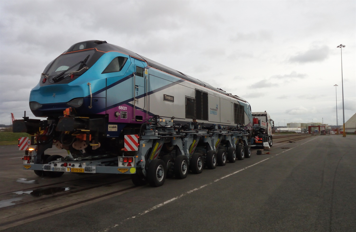 First TPE modified Class 68s sent to Spain for initial testing