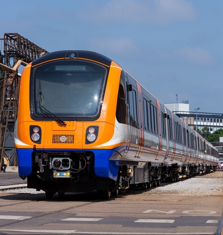 An electric train is a public transport. Cognitive information about electric trains