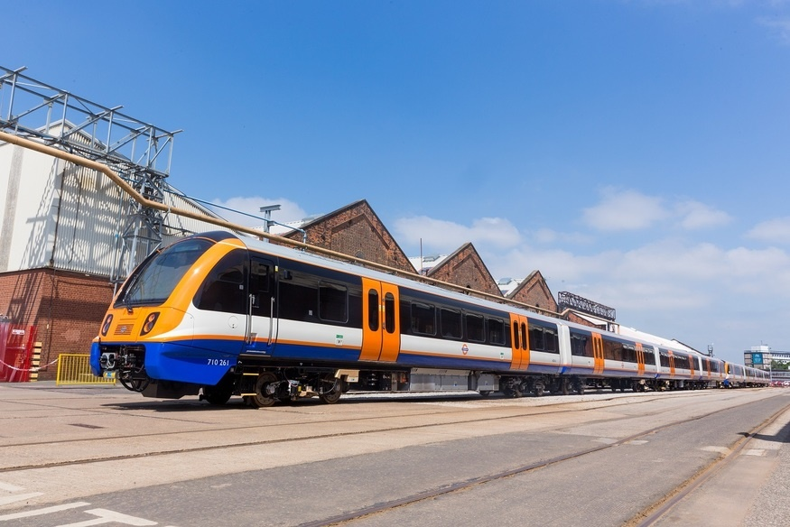 TfL reveals ultramodern London Overground trains