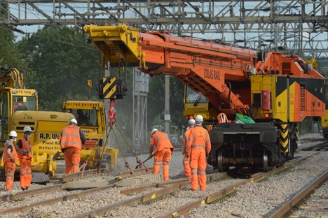 Colas Rail strengthens controls after 'unacceptable' ballast dust