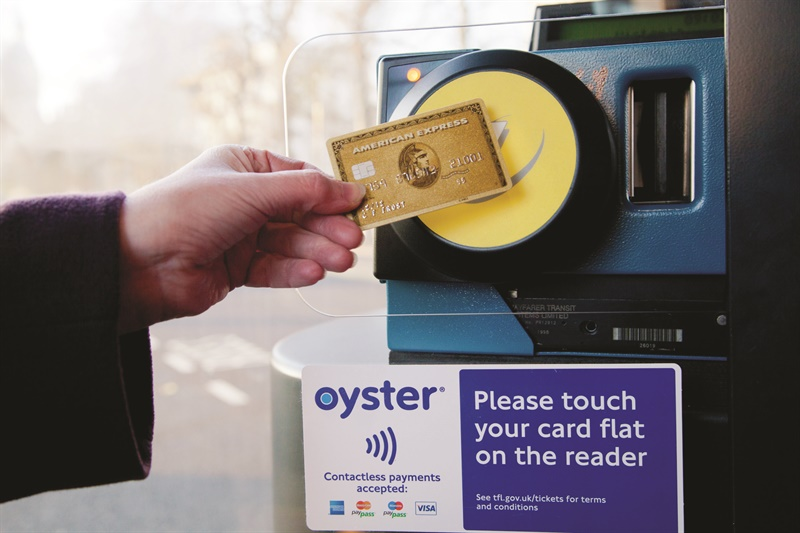 Contactless payments to go live across TfL network next week