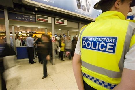Crime on the railways falls for tenth successive year
