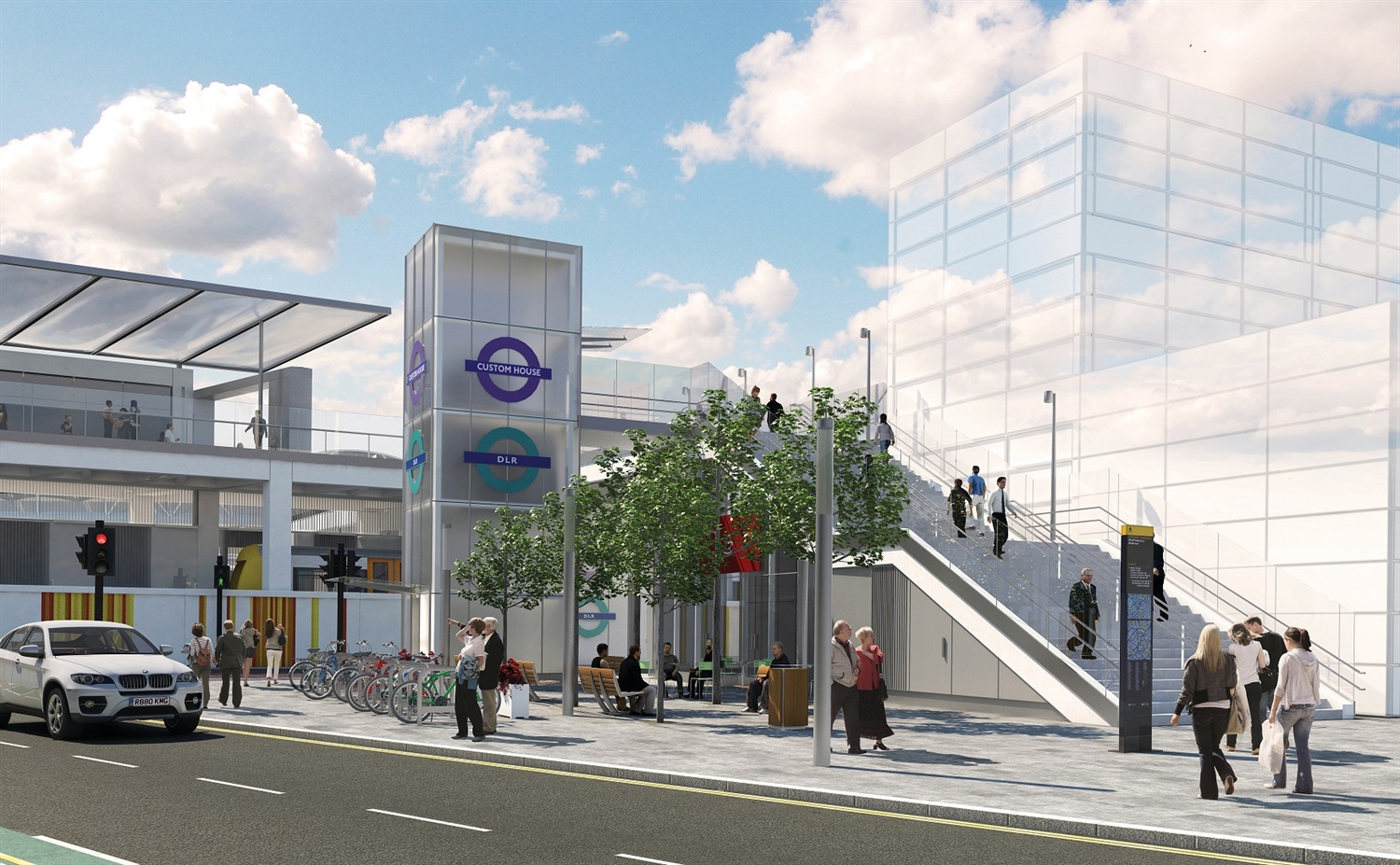 DLR station reopens after nearly a year of Elizabeth Line prep