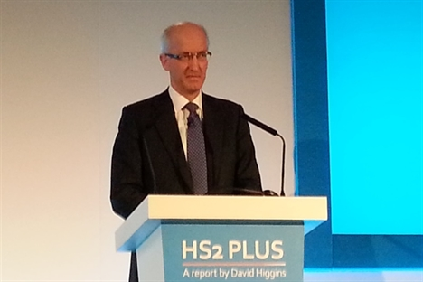Strong backing from DfT for Higgins HS2 proposals