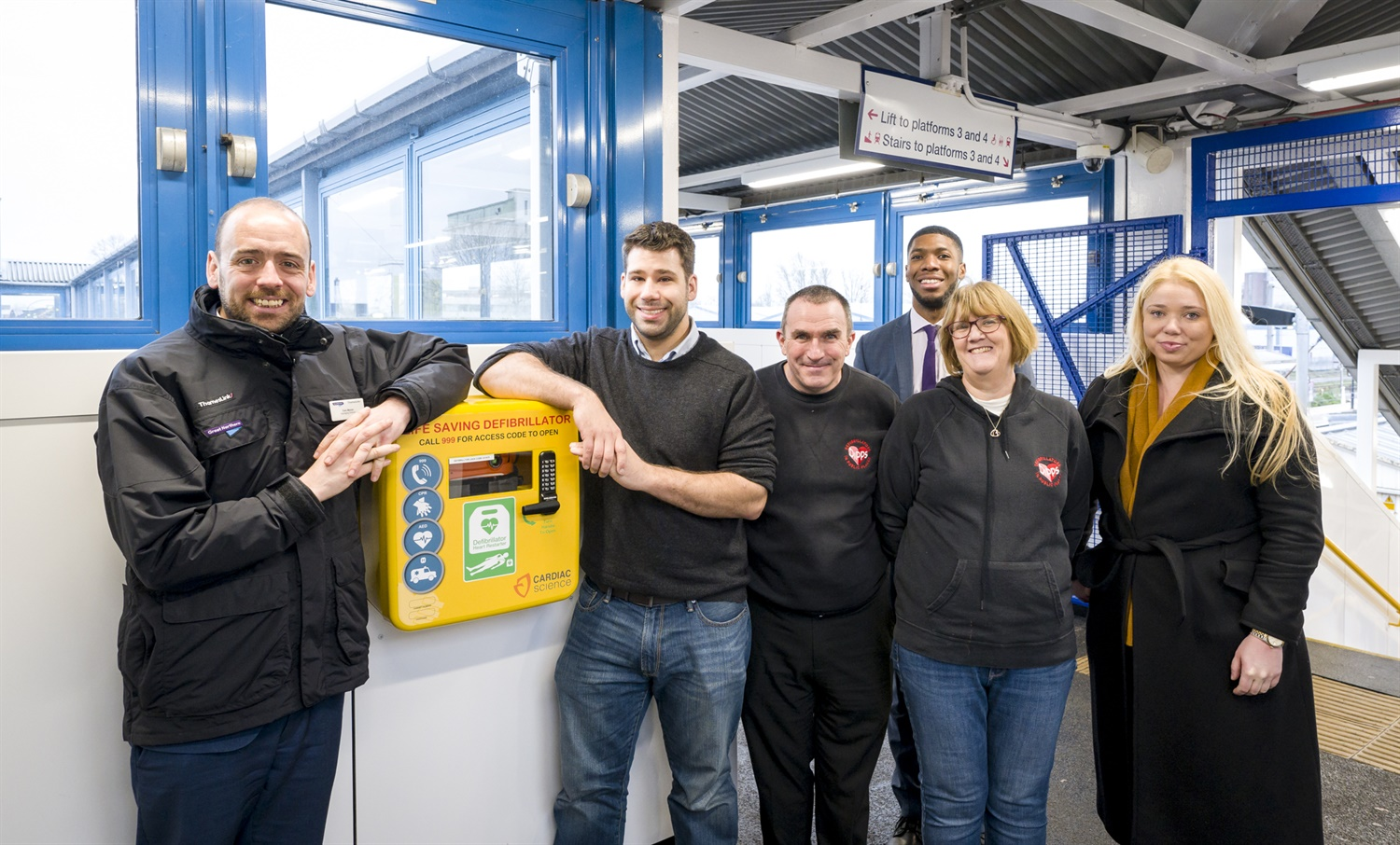 GTR start roll out of 200 more defibrillators in stations