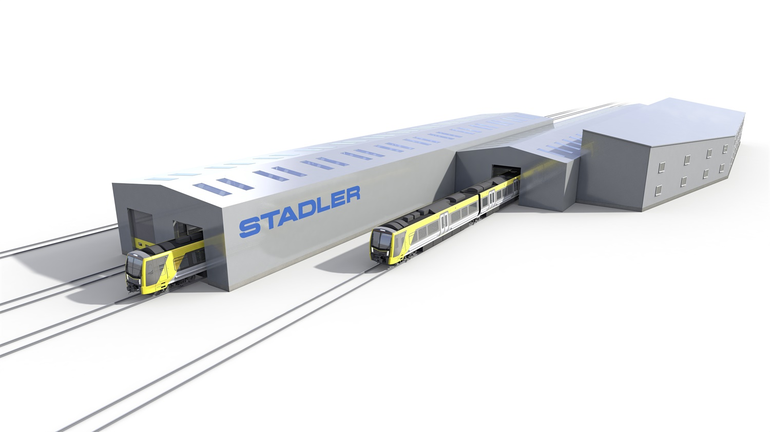 Stadler awards £20m contract to BAM Nuttall for Kirkdale depot