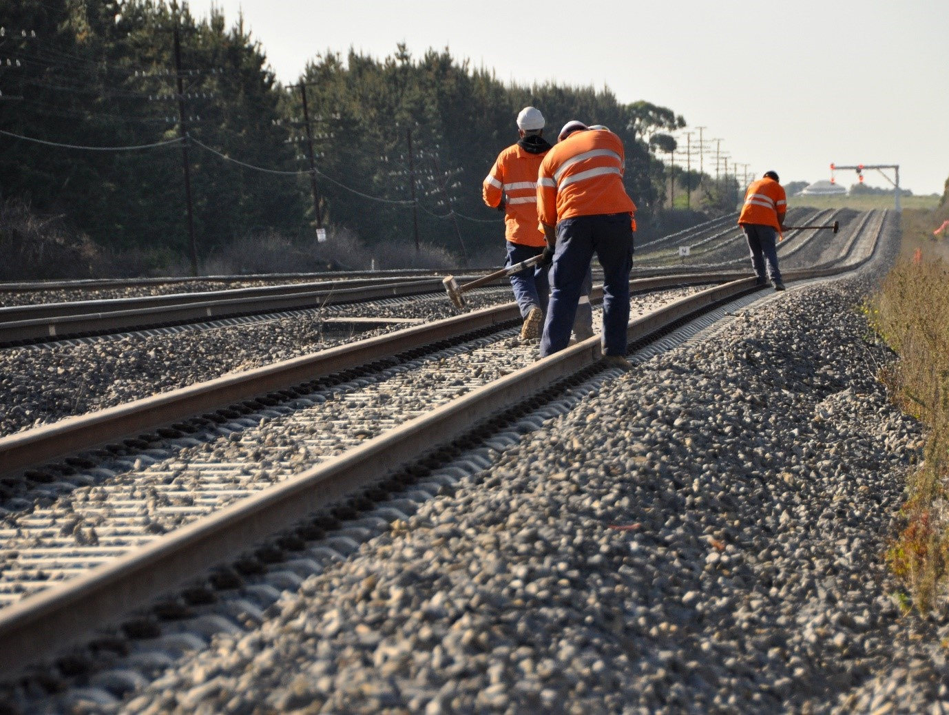 How biometrics can help improve health and safety measures on railway construction projects