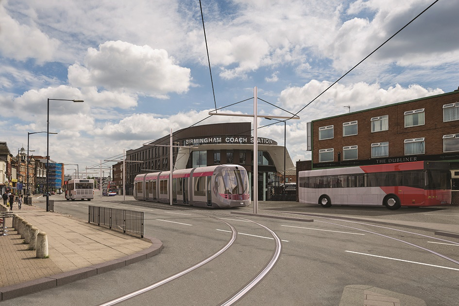 Route chosen for Midland Metro's Eastside extension