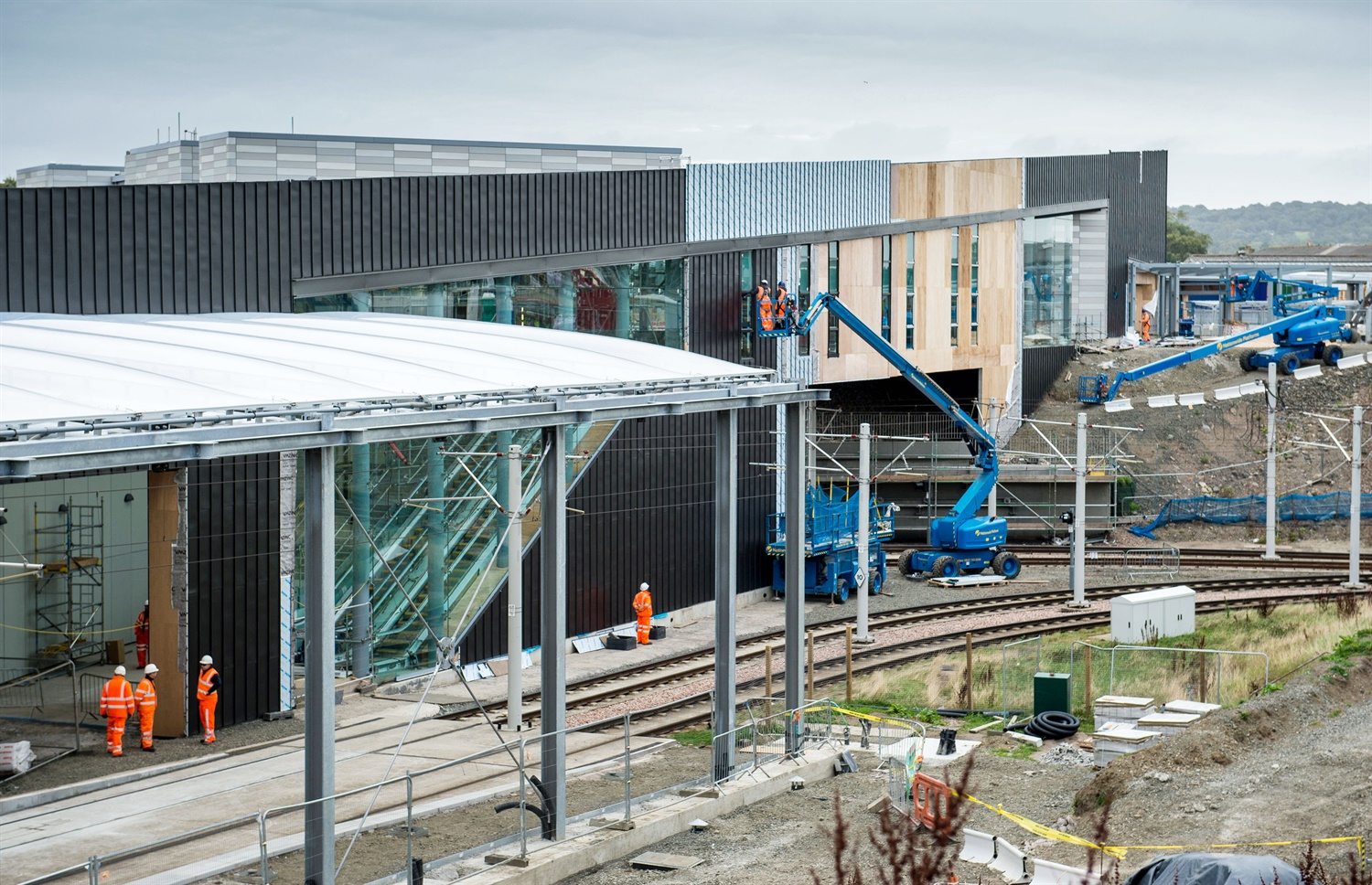 Edinburgh's £41m tram-train interchange  to open next month