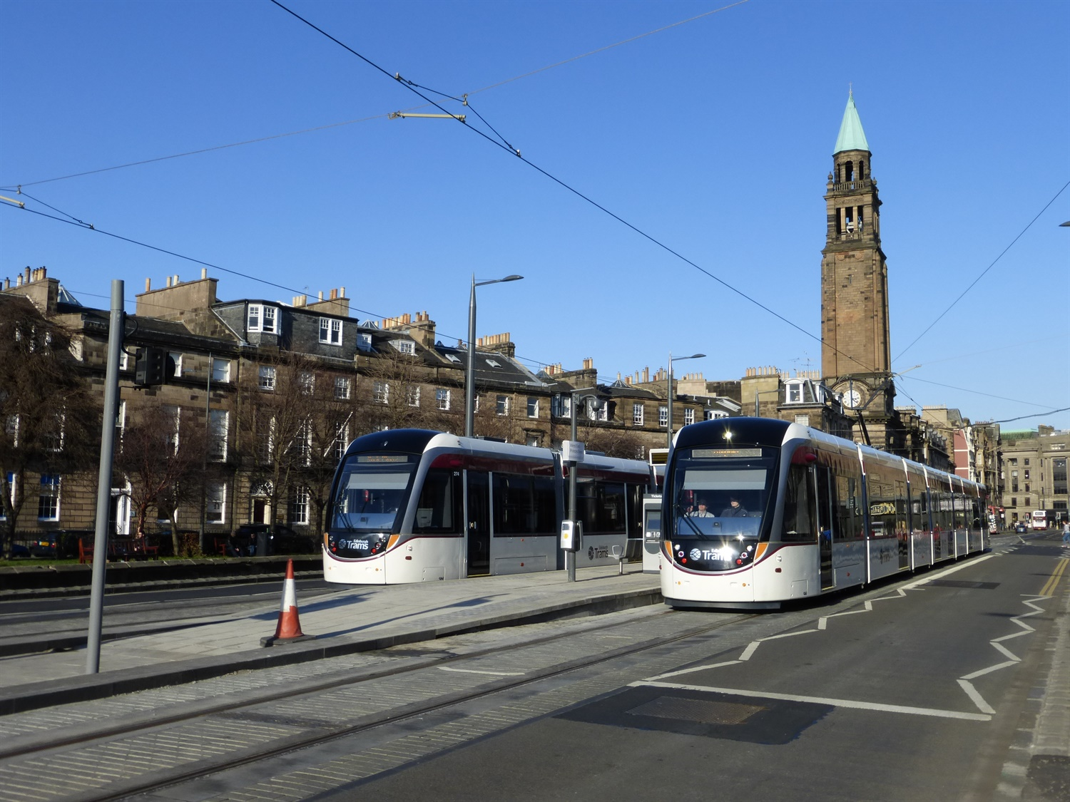 Contractors invited to tender for £165m Edinburgh tram extension