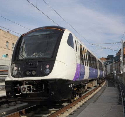 Elizabeth Line trains undergoing final testing phases, travelling through tunnels at 60mph