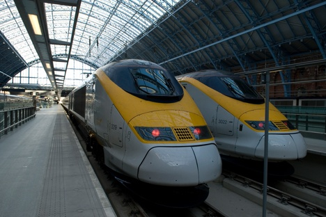 Eurostar hit by severe delays