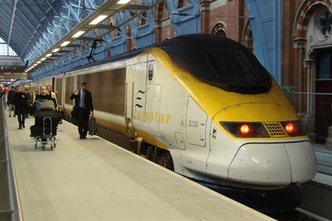 UK government targets quick Eurostar stake sale