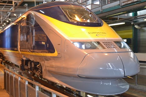 New Eurostar e320s in final testing stage