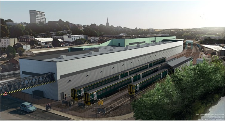 Plans finalised for GWR's new £40m Exeter depot