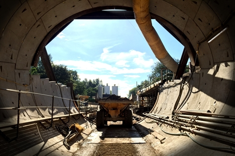 Significant civil engineering at Farnworth tunnel nears completion