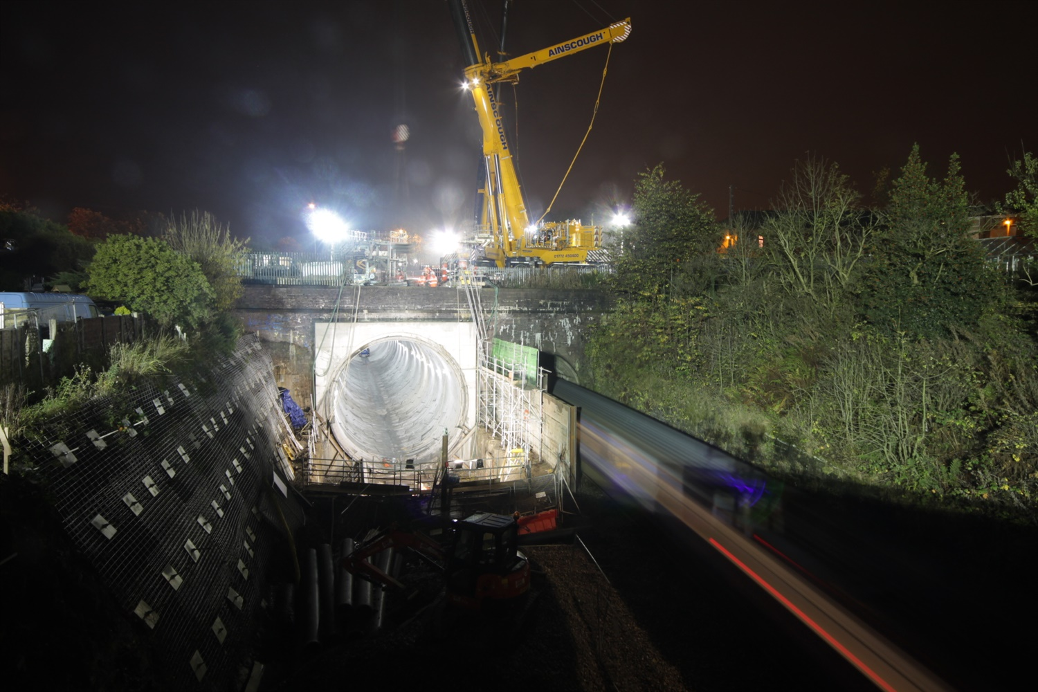 Full Farnworth Tunnel services to resume next month