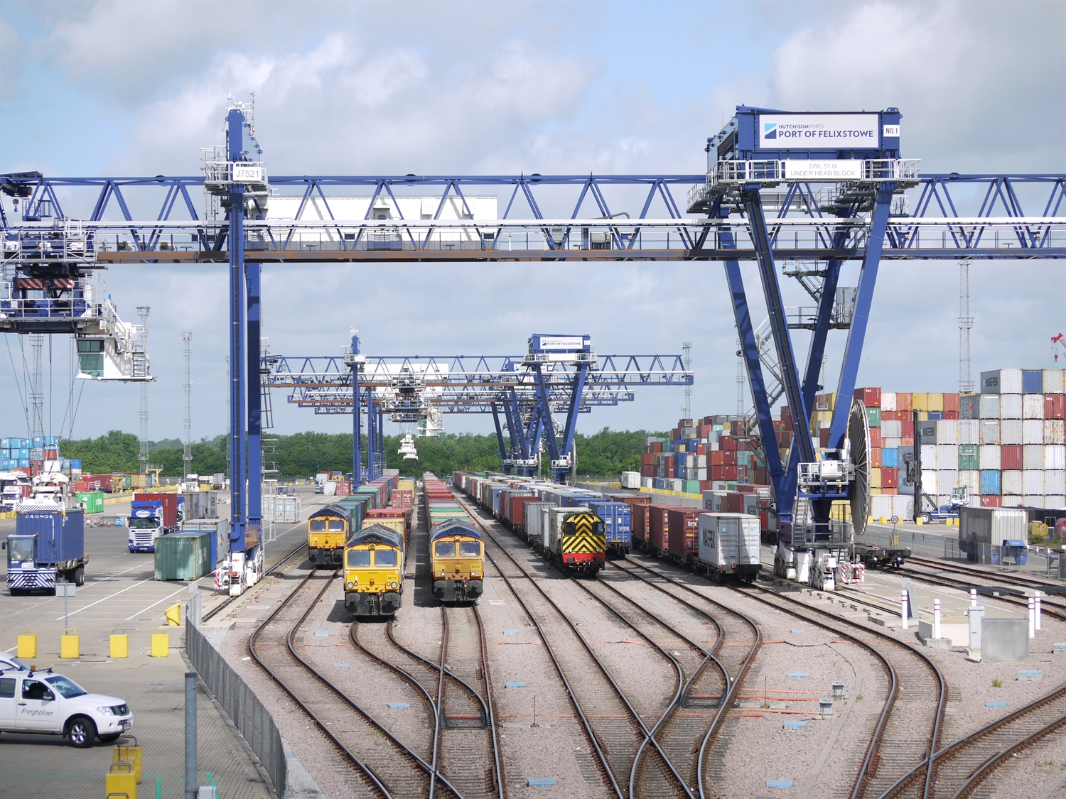 Go-ahead for Felixstowe branch line upgrade to boost freight capacity