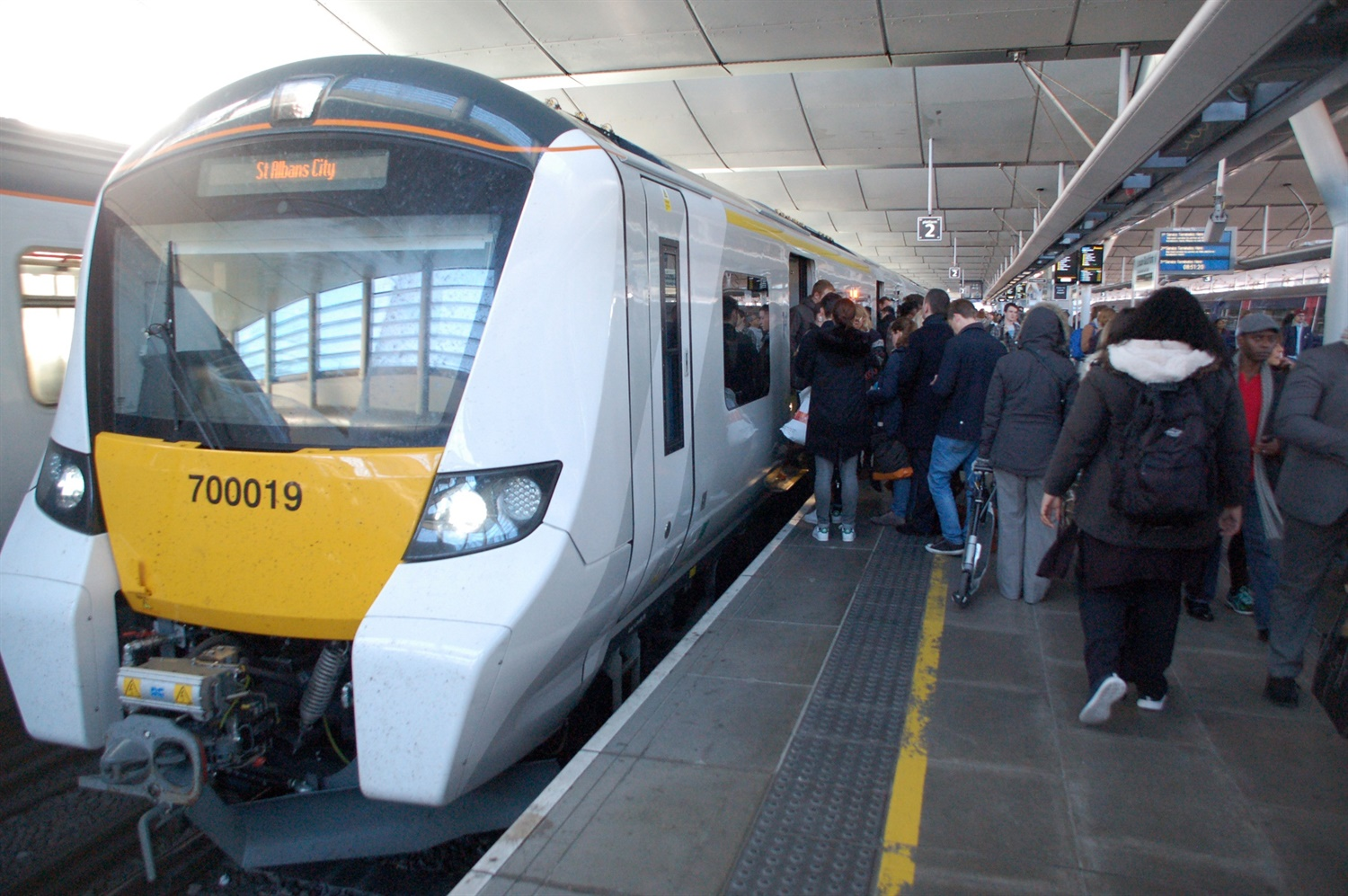 Thameslink Class 700 rolled out on suburban route