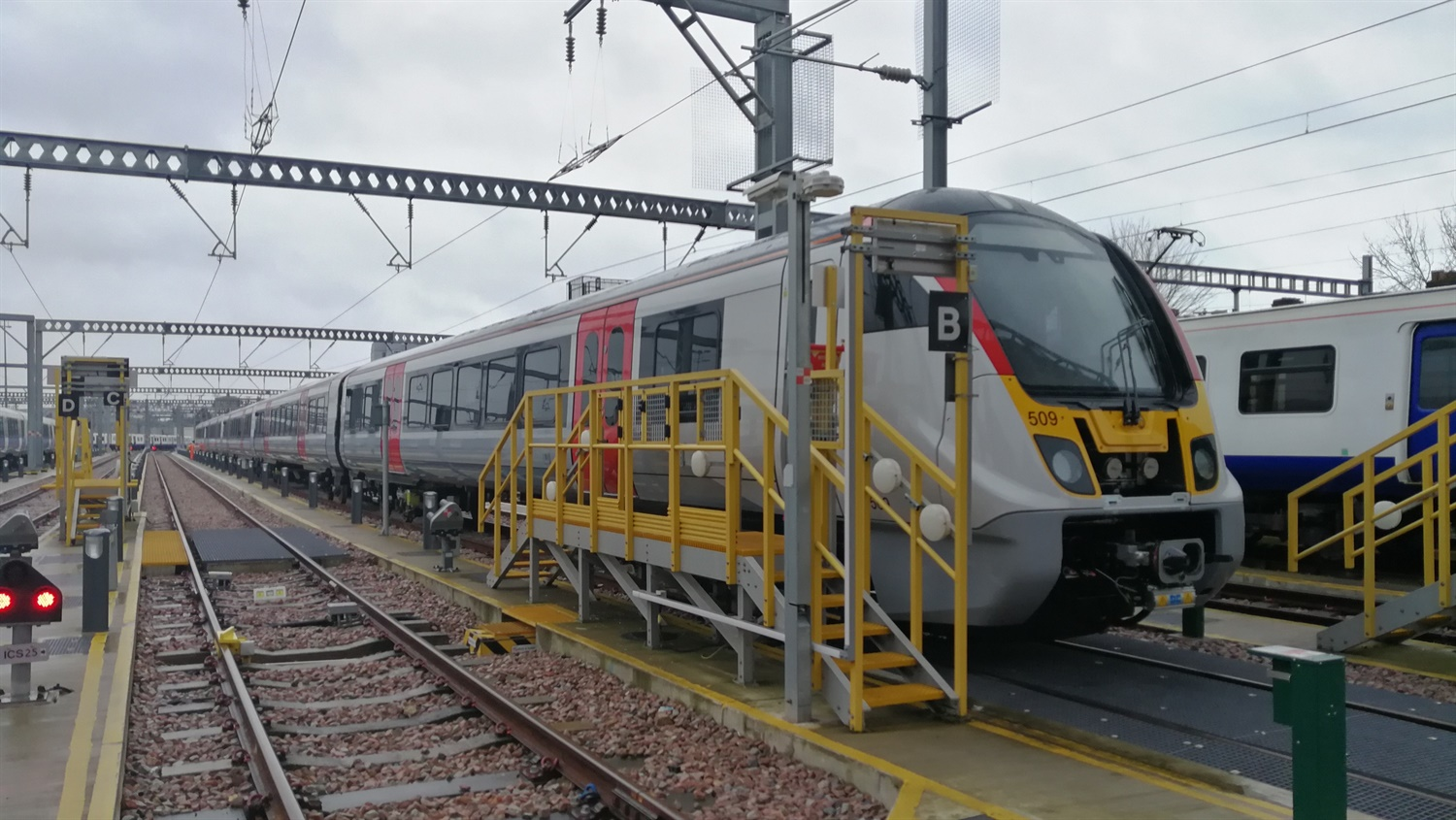 Greater Anglia's new commuter trains have arrived in Essex