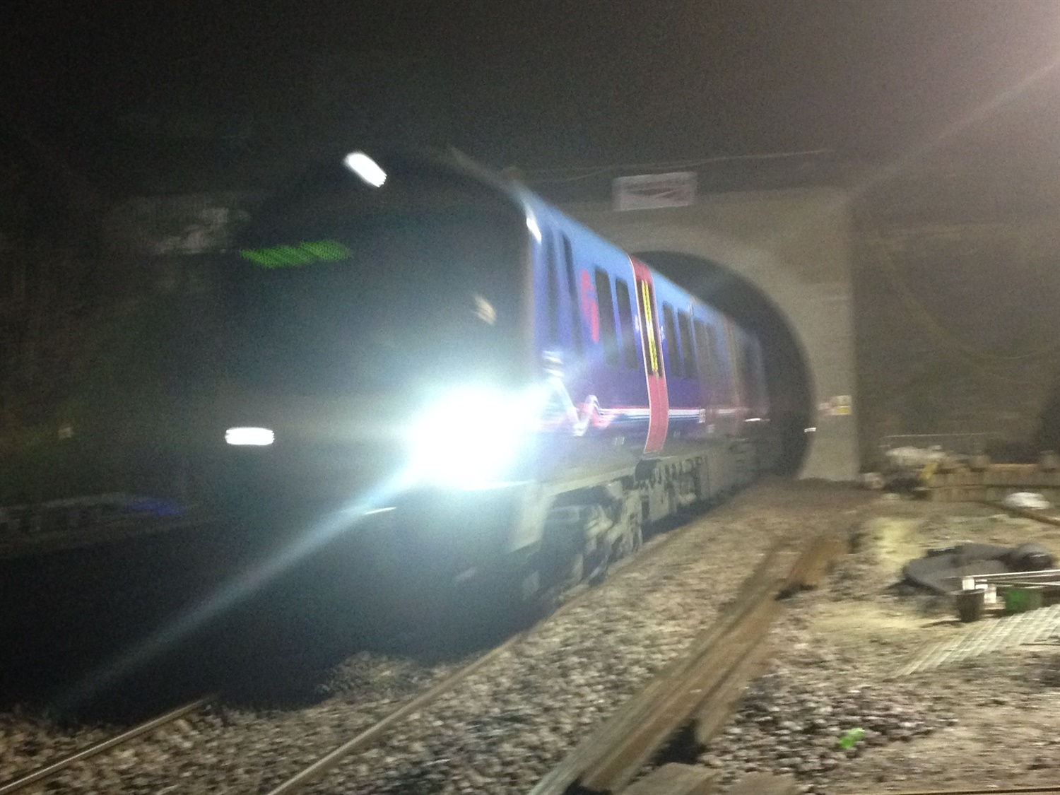 Rail services resume through Farnworth Tunnel