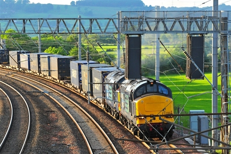 Rail freight movement at record high in 2014