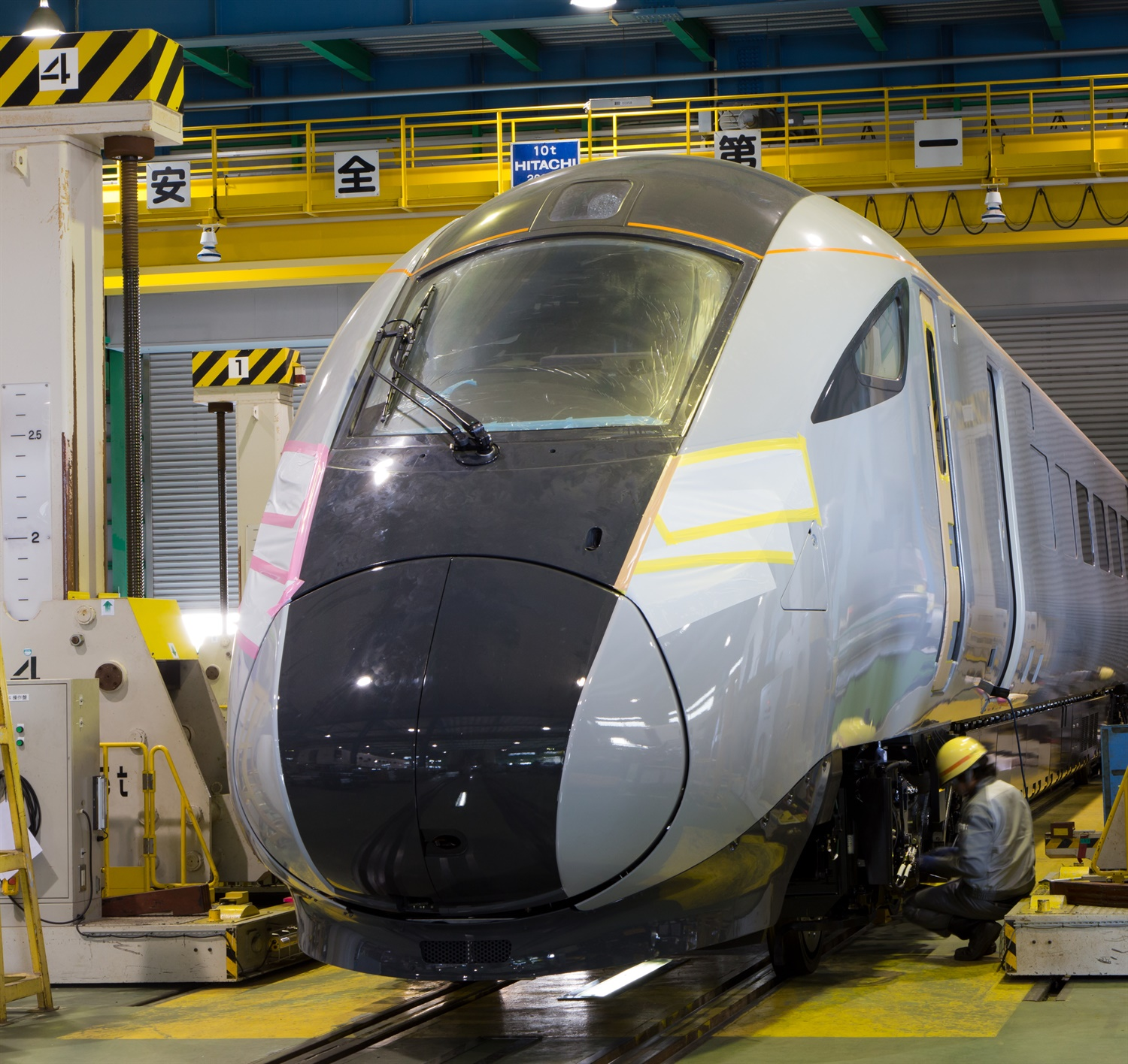 First photos emerge as Hitachi begins work on 'game-changer' TPE fleet