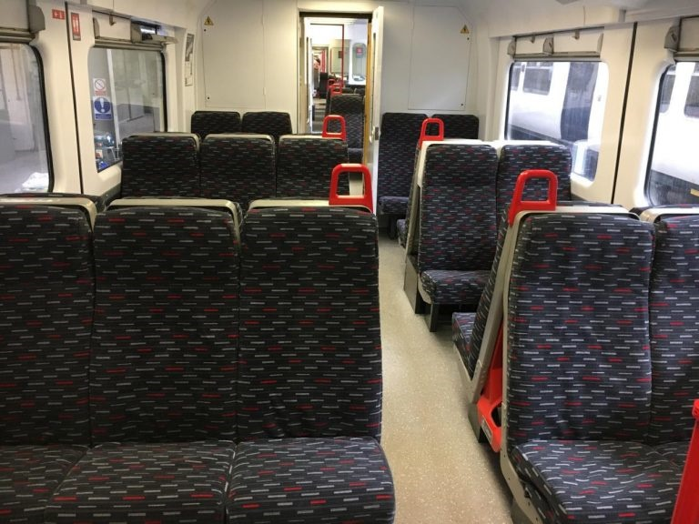 Greater Anglia £1m Class 317 refurb completed