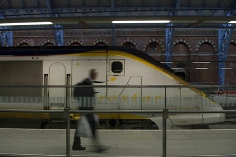 Eurostar traveller numbers rise by over 21%