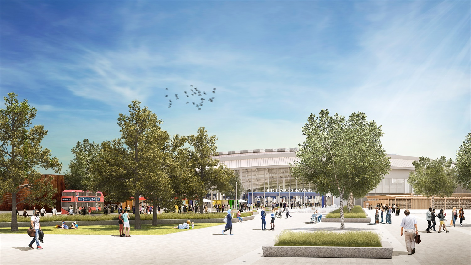 Planning approved for HS2 station set to be largest newly built station