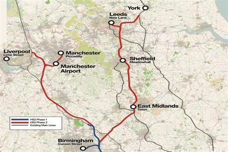 HS2 should be built north to south – Greengauge 21
