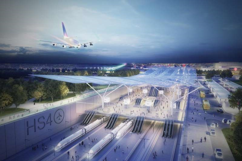 Groundbreaking 'HS4Air' line proposed, slashing Heathrow to Gatwick travel to just 15 minutes