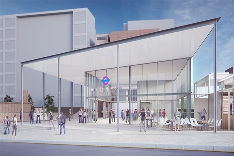 Crossrail submits plans for new Hayes & Harlington station