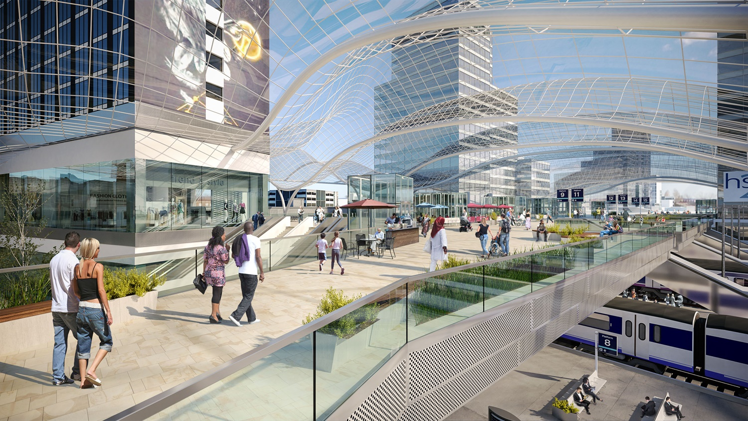 New images of planned £500m Leeds station development revealed