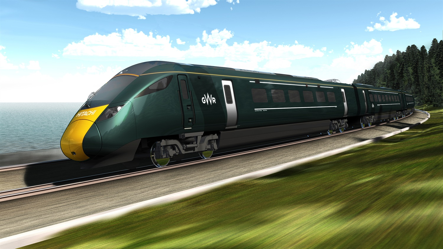 MTU to supply PowerPacks for Great Western Class 802s