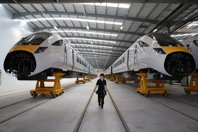 Bombardier and Hitachi commit to high-speed rail learning programme if HS2 bid is successful