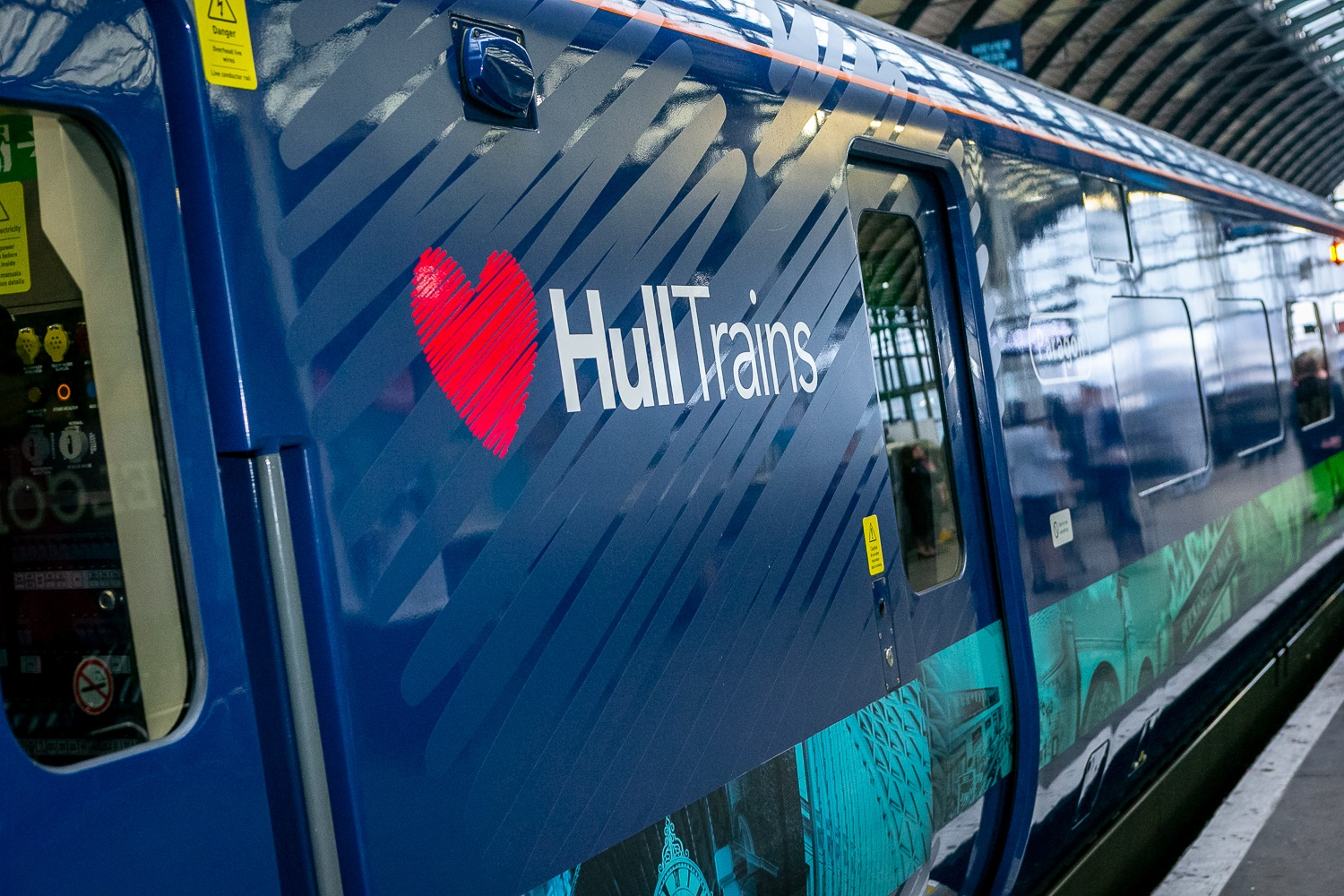 Hull Trains release 360 virtual tour of new Paragon Trains